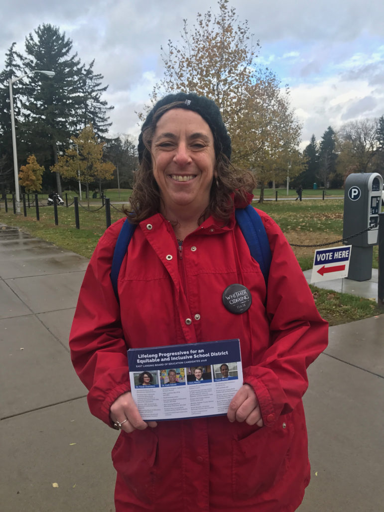 East Lansing resident Karen Honey said this may be the most important elections in her lifetime because there are so many important topics being voted on.