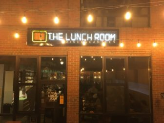 The Lunch Room is an all plant-based restaurant based in Ann Arbor. Photo taken by Jacob Vogel Dec. 7, 2018.