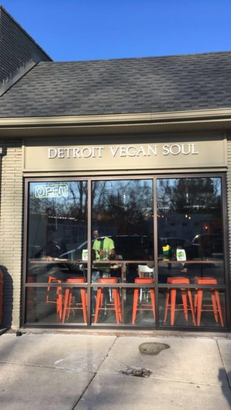 Detroit Vegan Soul is an all plant-based restaurant located in Detroit.