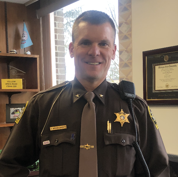 Uniform sheriff in office