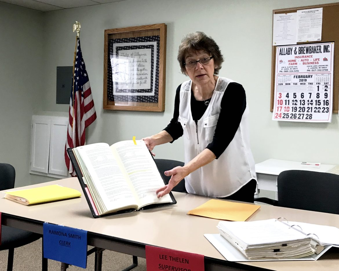 Clerk Ramona Smith said she is dealing with years of informal and disorganized processes to respond to public records requests in Greenbush Township. Smith and the township have updated and established procedures that meet the requirements of the Michigan Freedom of Information Act.