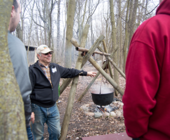 maple sugaring demonstration
