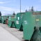 The East Lansing Recycling Drop-off Center provides local residents with pre-sorted recycling bins as a supplement to its single-stream curbside recycling program.