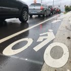 Delta Township recently added bike lanes to Old Lansing Road. The township has plans to add about 4 miles of bike lanes to township roads by 2021.