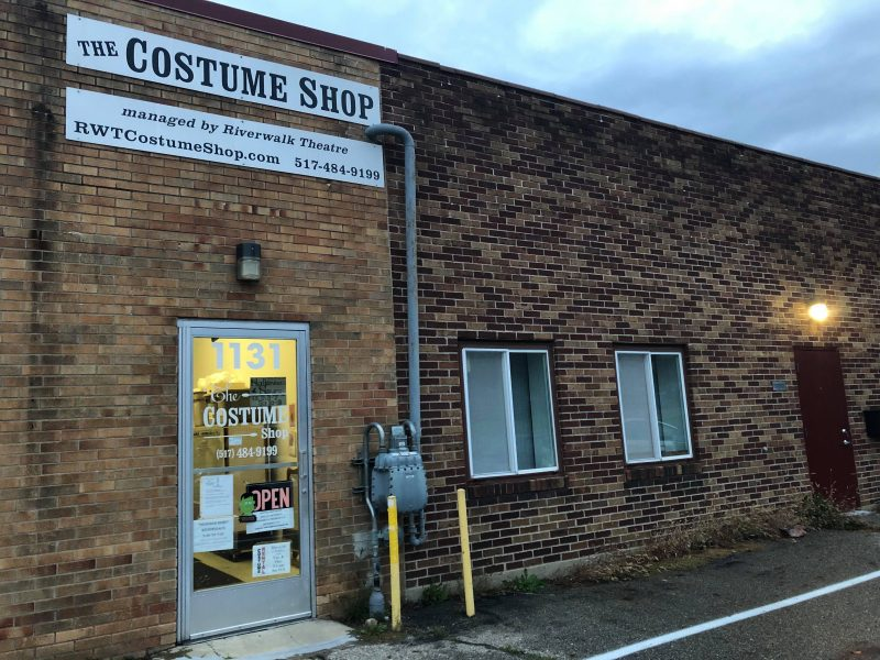 """The Riverwalk Theatre's """"walk-in closet,"""" The Costume Shop, offers a custom experience."""