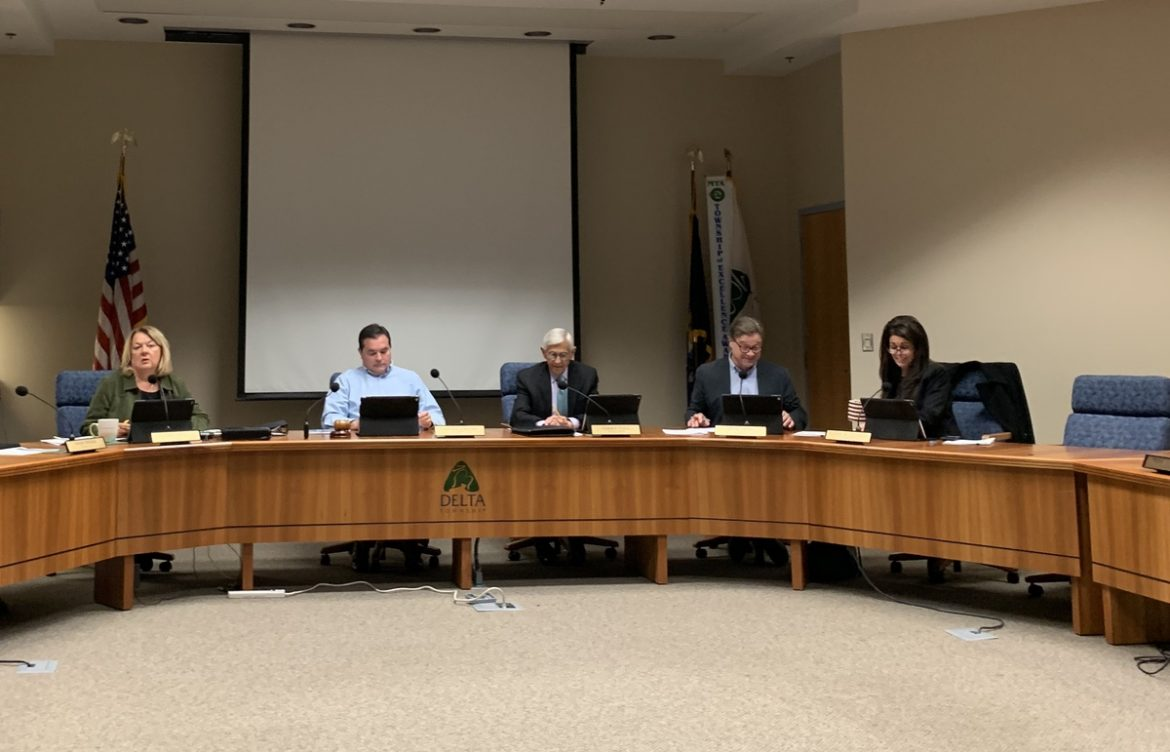 The Delta Township board meets Nov. 4 to discuss installing street lights on Dibble Avenue. The plan was approved contingent upon figuring out if the number of lights could be reduced from 17 in a three-block span of homes.