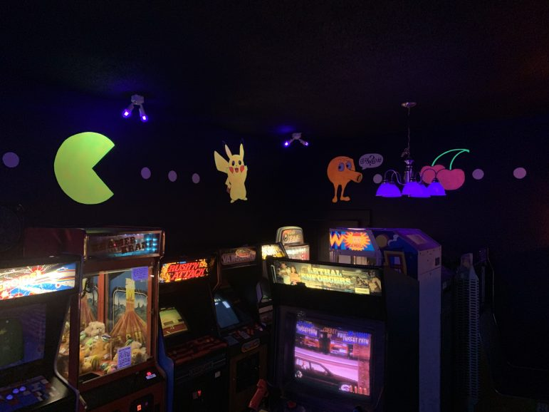 Every game in the arcade for 25 cents. Tons of classics like Ms. Pacman, Donkey Kong and Galaga. Yet another attraction that Eaton Theatre offers to the residents of Charlotte.