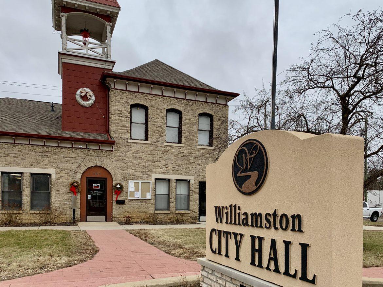 Williamston City Hall hosts biweekly City Council meetings.