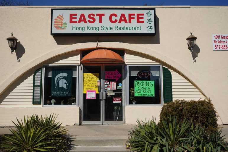 East Lansing's East Cafe is open for takeout and delivery during the novel coronavirus outbreak.