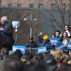 Bernie Sanders visits Grand Rapids