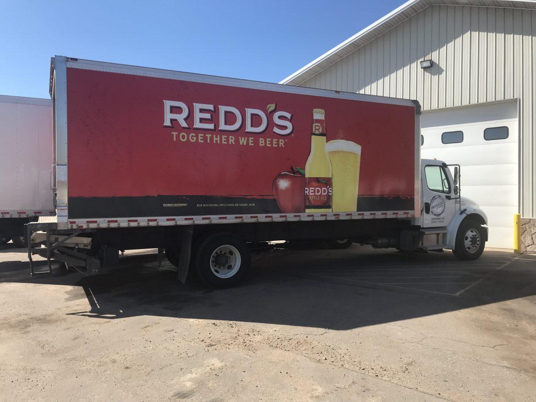 Jerry Maciok's box truck