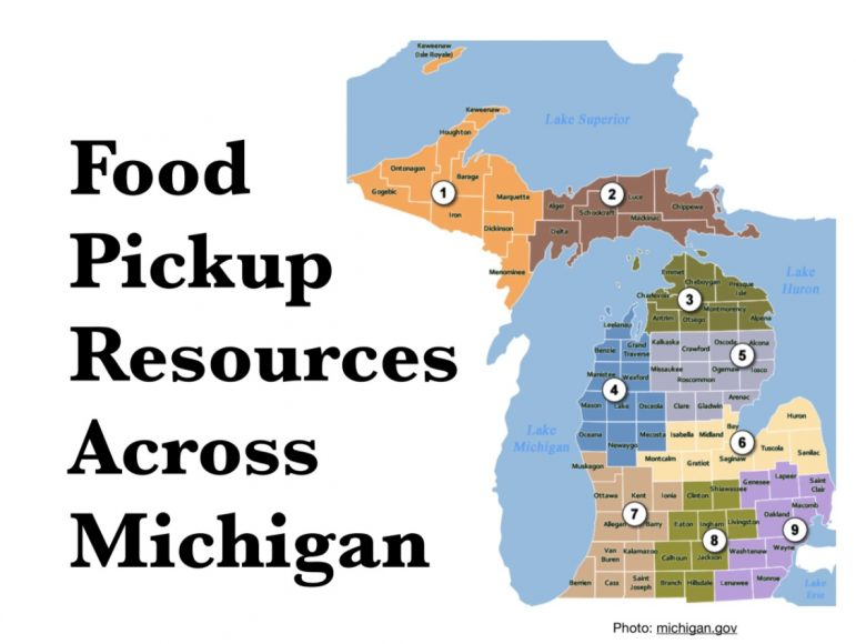 Michigan map shows locations mentioned in related links