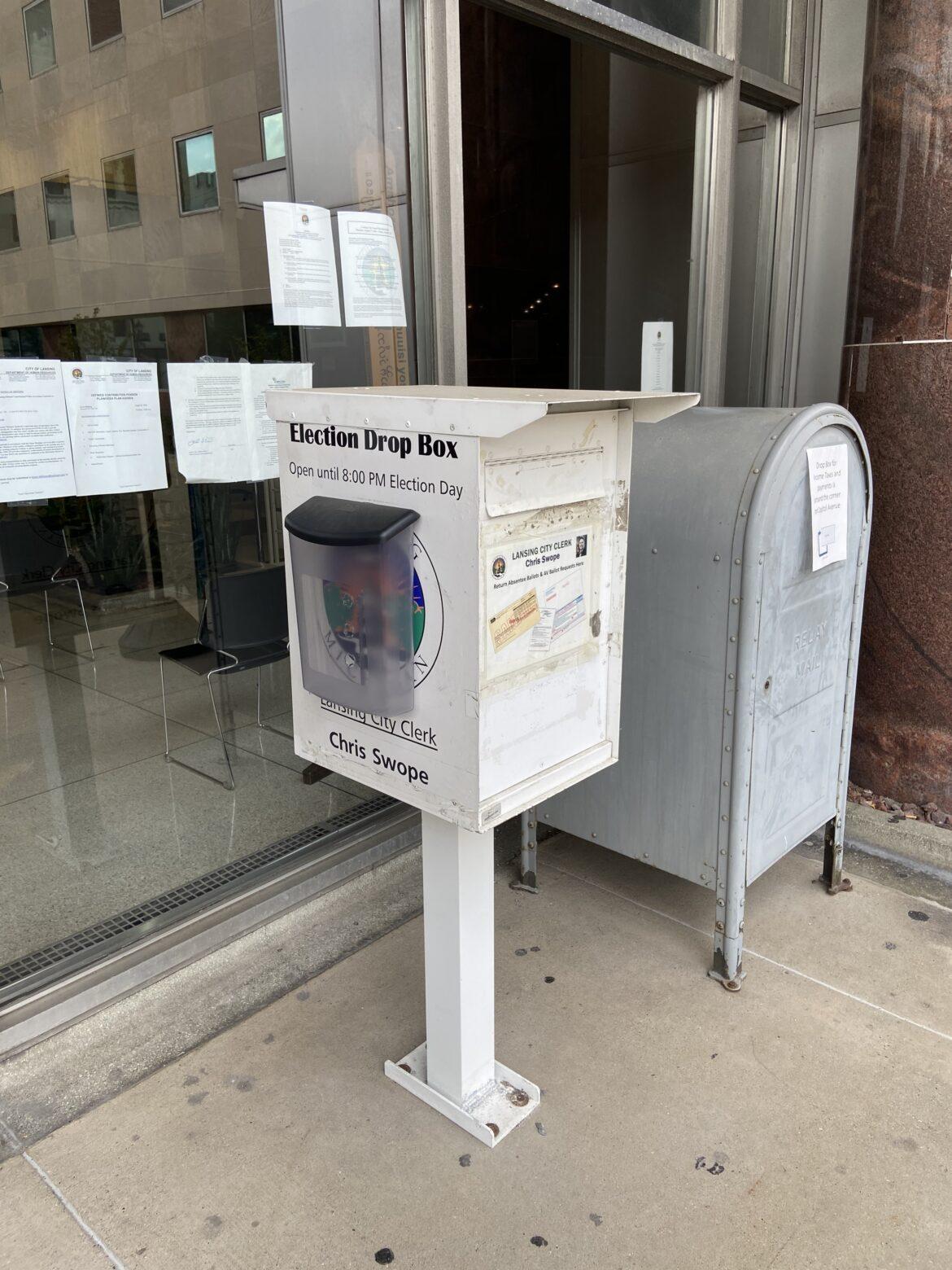 Ingham County City Hall Election Box
