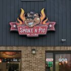 The Smoke 'N Pig opened its Delta Township restaurant at 908 Elmwood Road just three months before restaurants were shut down in March due to the coronavirus pandemic. The restaurant also operates a food truck.
