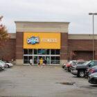 Exterior of gym