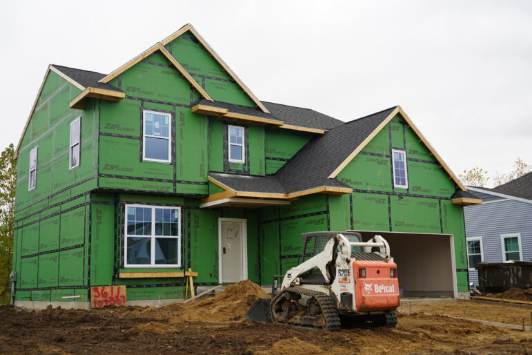 A house in northern East Lansing sold before construction was completed.
