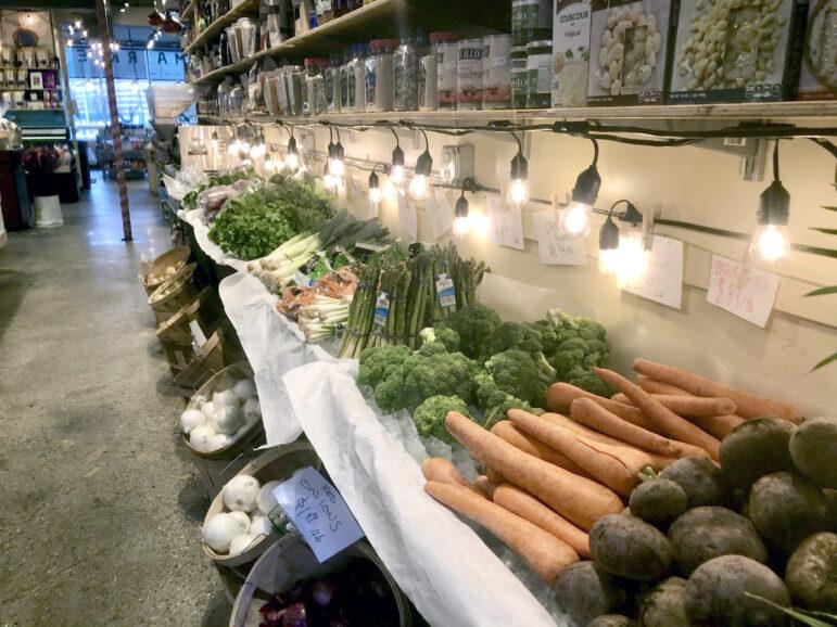 Fresh produce at Campbell's Market Basket