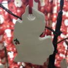 Michigan cherry ornament.
