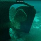The Michigan Shipwreck Research Association captured the first-ever footage of the SS William B. Davock shipwreck, determined to be a rudder that broke in the storm.