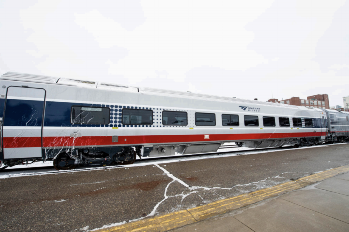 Amtrak's new passenger cars will be in service later this year on Midwest routes.