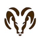 Holt High School mascot logo shows ram's head graphic
