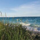 Sleeping Bear Dunes National Lakeshore off of Lake Michigan.