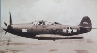 A World War II P-39Q Airacobra, the type of plane lost in Lake Huron in a 1944 accident.
