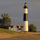 Big Sable Point Lighthouse in Ludington.