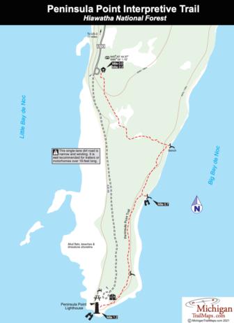 Peninsula Point Interpretive Trail