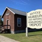 Seney's Museum & Historic Railroad Depot.