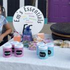 Emily Hatfield, 12, sold homemade soaps at Grand Ledge's Fall Festival.