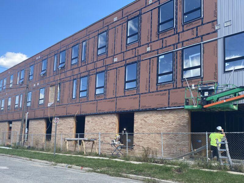Construction at Allen Place